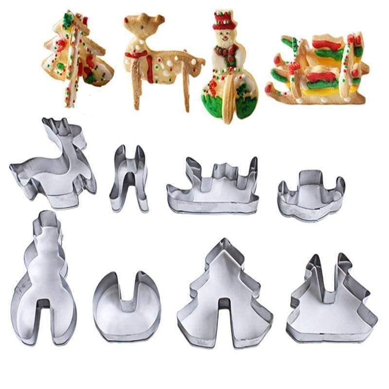 Amazing 3D Christmas Cookie Cutter - With box - Cookie Tools
