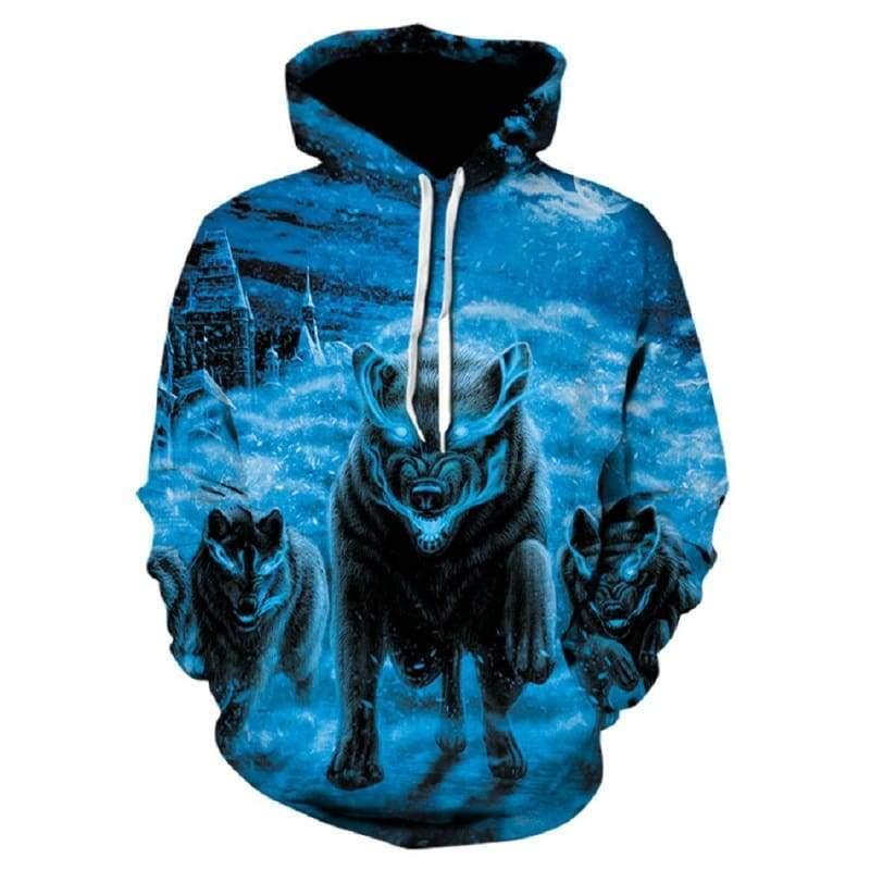 Amazing 3D Hoodies !!! - WE198 / XXL - Hoodies & Sweatshirts