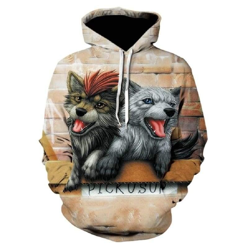 Amazing 3D Hoodies !!! - WE199 / XXL - Hoodies & Sweatshirts
