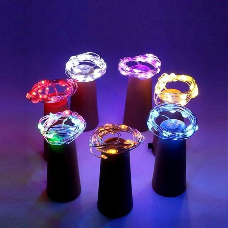 Amazing LED Wine Bottle Cork wire lights - LED String