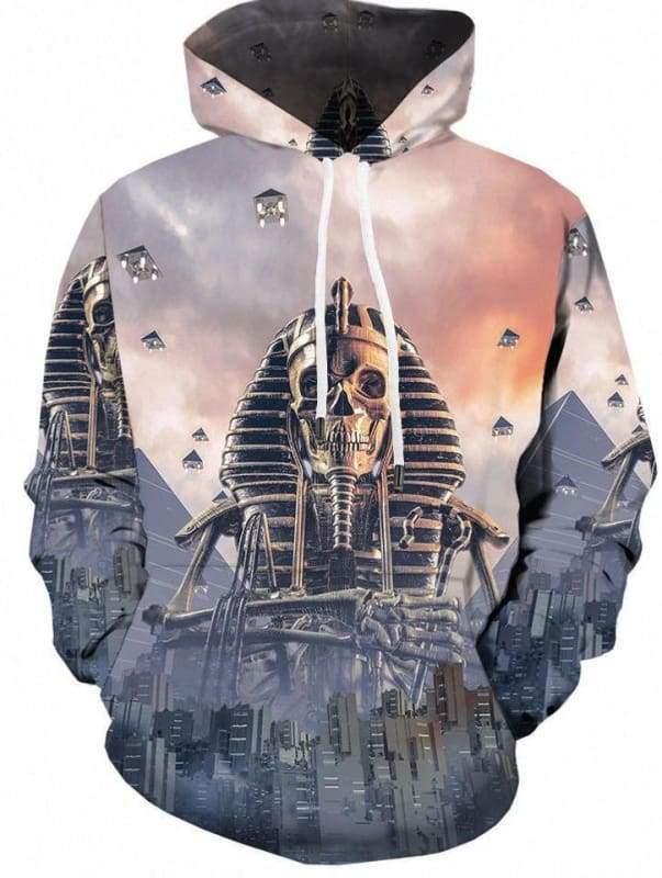Amazing Skull Hoodies Mens & Women - 3d hoodies 01 / S - Hoodies & Sweatshirts