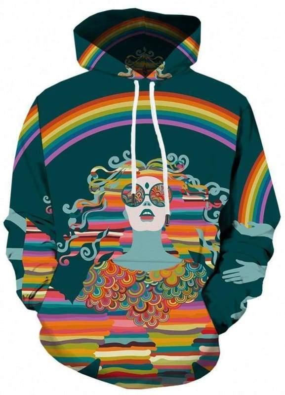 Amazing Skull Hoodies Mens & Women - 3d hoodies 04 / S - Hoodies & Sweatshirts