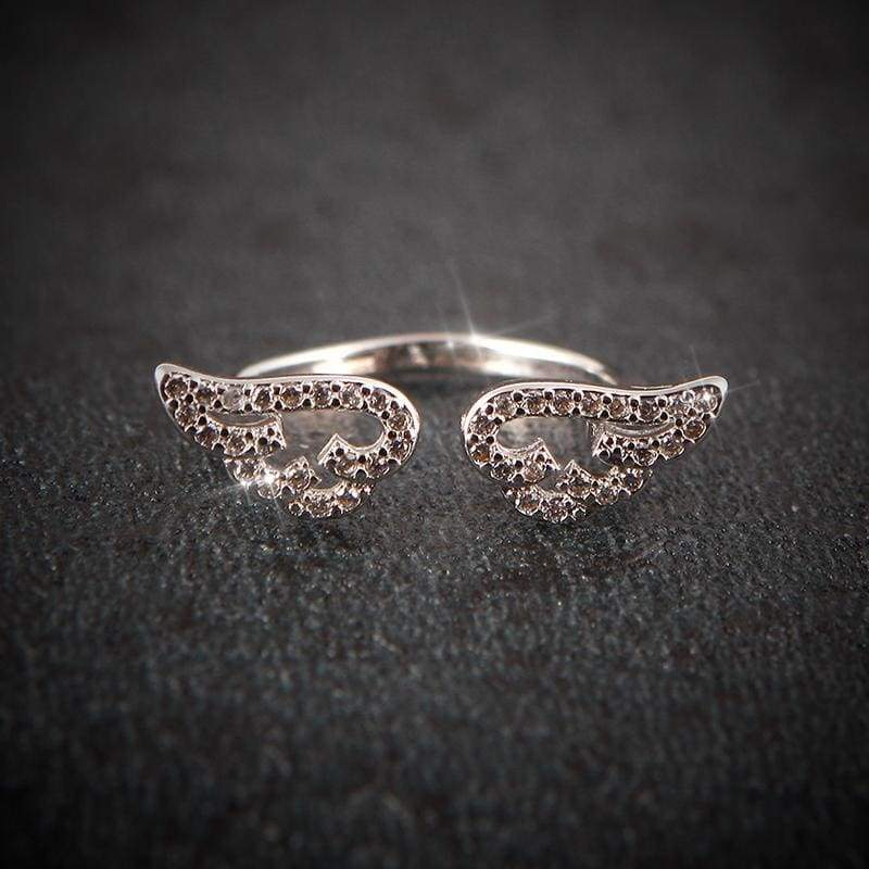 Angel Wings Ring Just For You - Rings