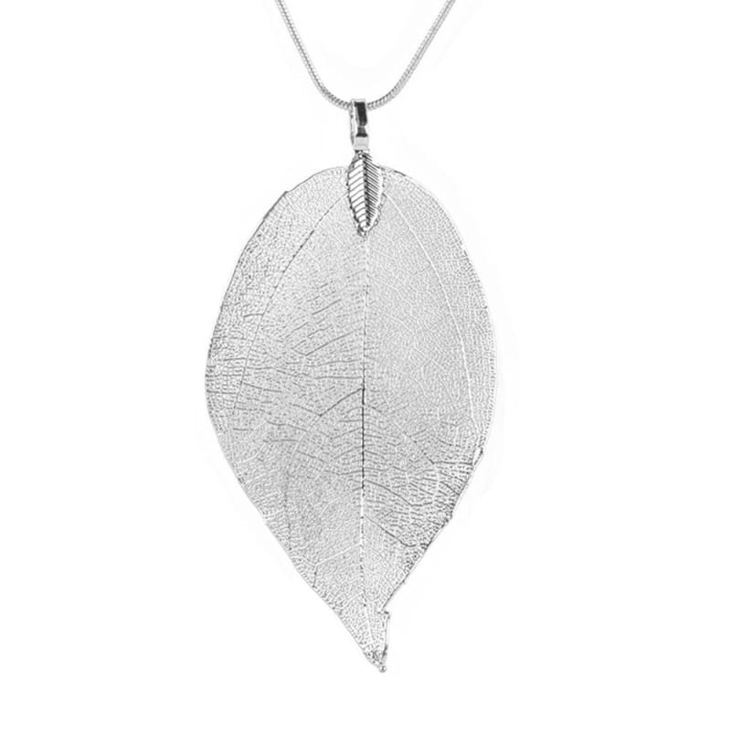 Autumn Leaves Pendant Necklace - Chain Necklaces