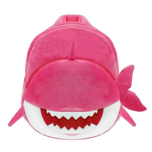 Baby Shark Backpack For Toddler - Pink - Plush Backpacks