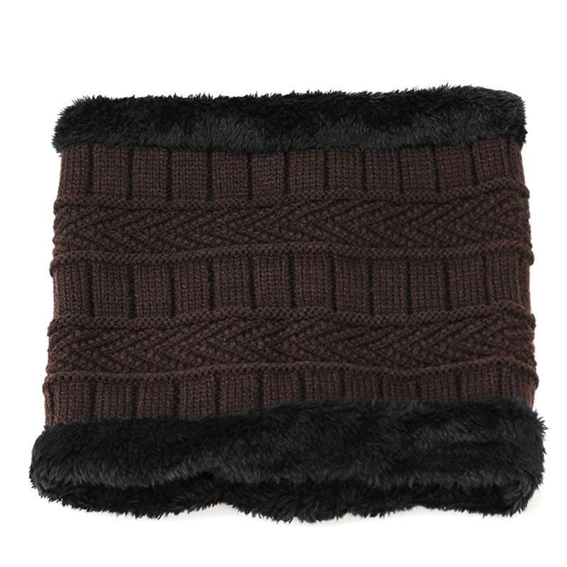 Beanies Knit Winter Cap For Man - Coffee 6 - Skullies & Beanies