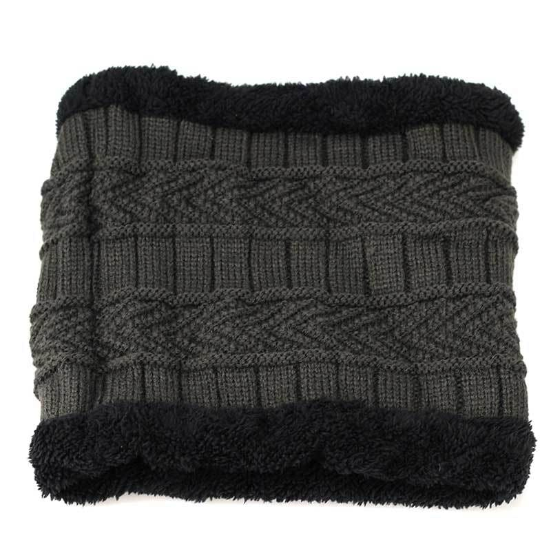 Beanies Knit Winter Cap For Man - Gray 4 - Skullies & Beanies