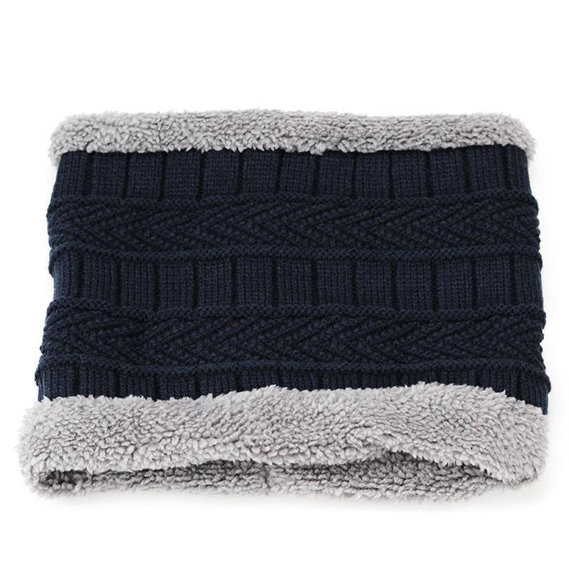 Beanies Knit Winter Cap For Man - Navy 5 - Skullies & Beanies