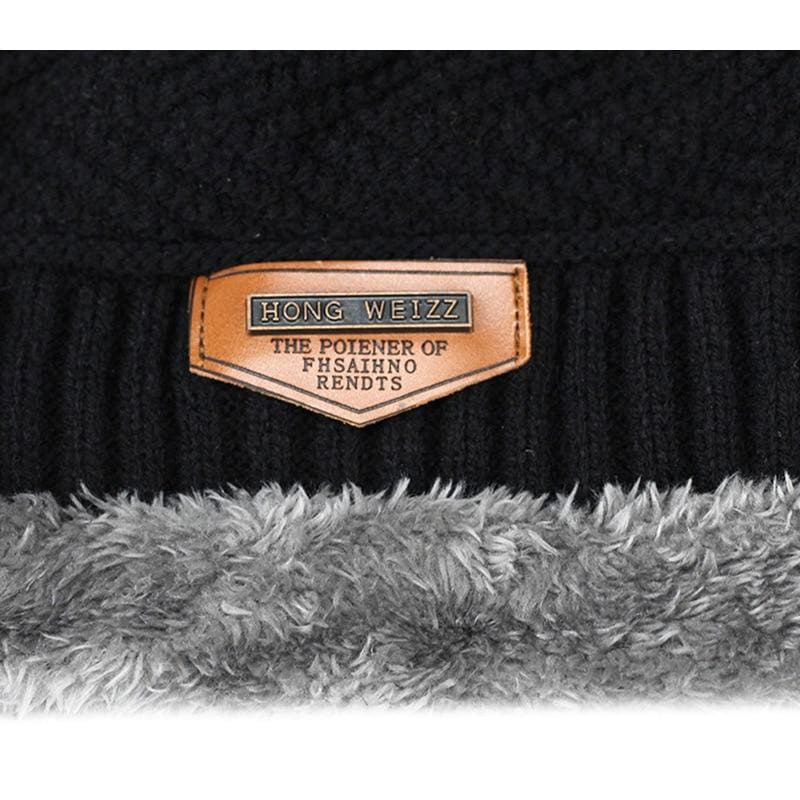Beanies Knit Winter Cap For Man - Skullies & Beanies