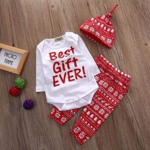 Best Gift Ever outfit - 3M - Clothing Sets