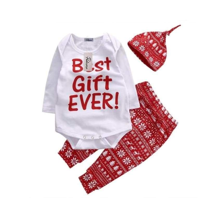 Best Gift Ever outfit - 6M - Clothing Sets