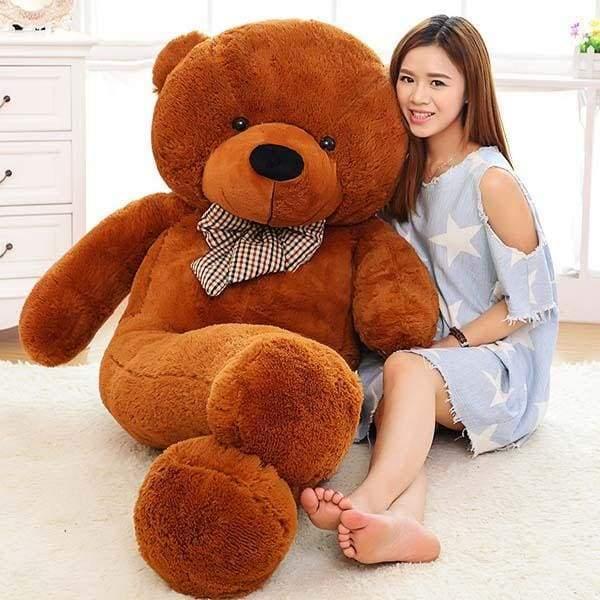 Big Giant Teddy Bear - 60cm / Brown - Teddy Bear