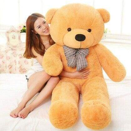 Big Giant Teddy Bear - 60cm / Light yellow - Teddy Bear