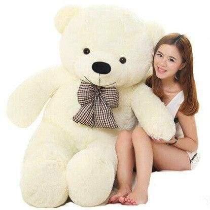 Big Giant Teddy Bear - 60cm / White - Teddy Bear