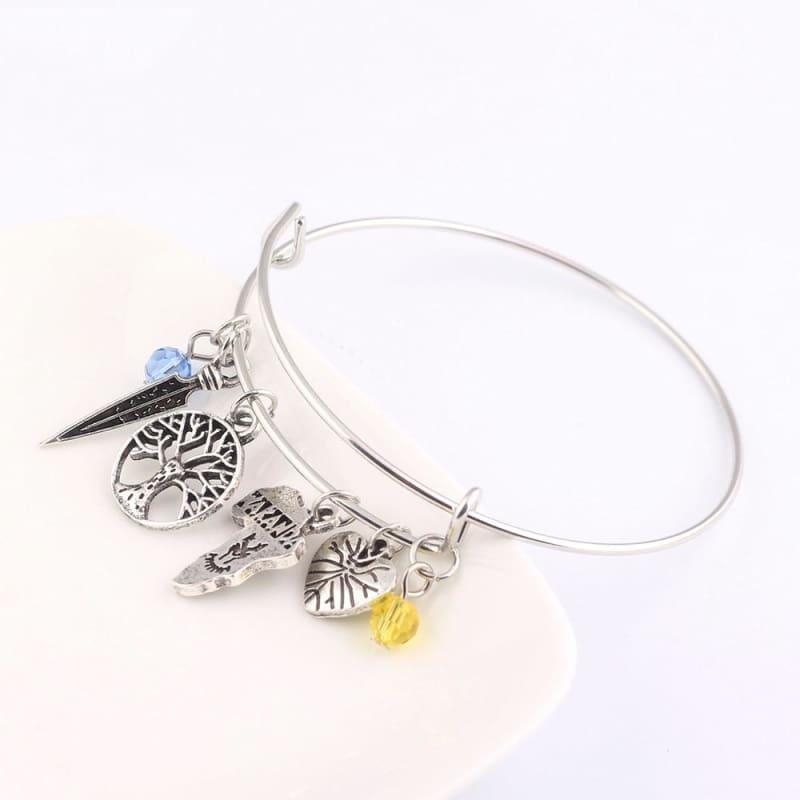 Black panther bracelet - B100 - Strand Bracelets