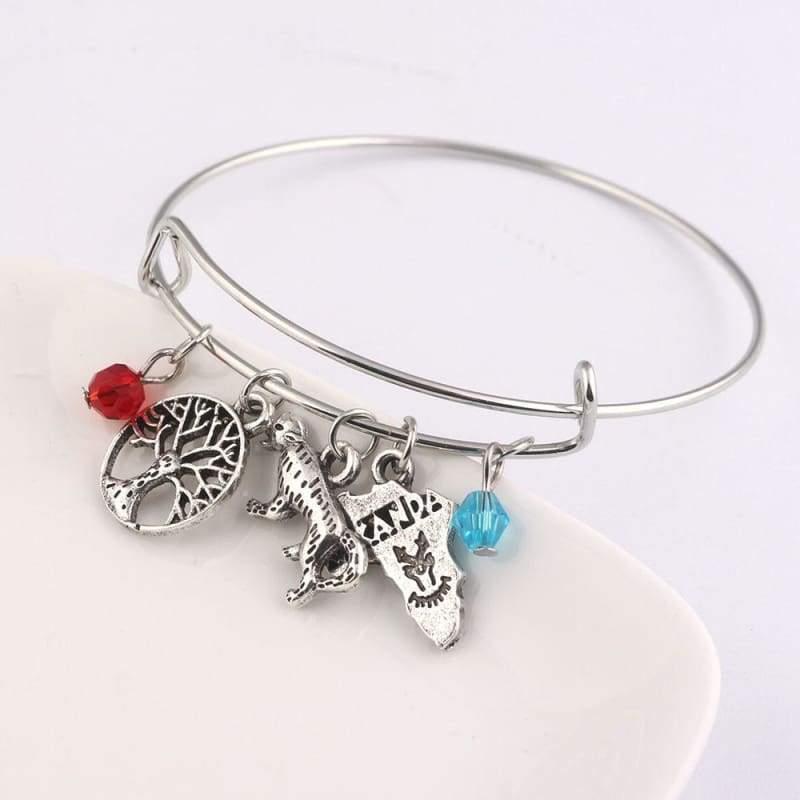 Black panther bracelet - B101 - Strand Bracelets