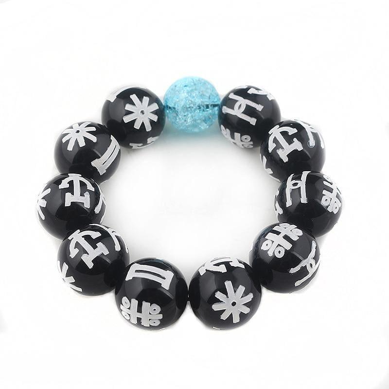 Black panther bracelet - B110 - Strand Bracelets