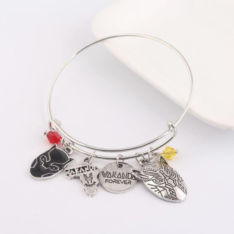 Black panther bracelet - B99 - Strand Bracelets