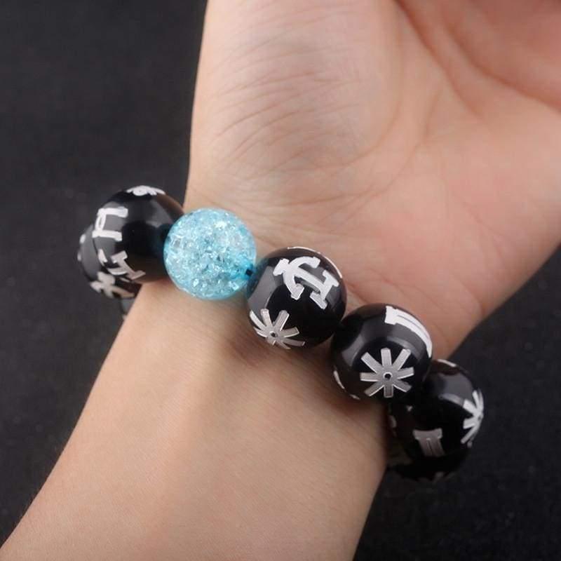 Black panther bracelet - Strand Bracelets