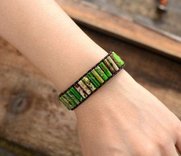 Boho Bracelet Natural Stone Single - Strand Bracelets