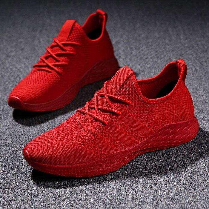 Boost Breathable Shoes For Summer - Red / 6 - Mens Casual Shoes