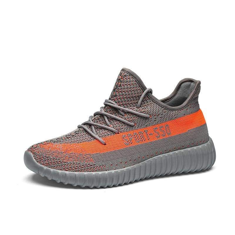 Breathable Mesh Couple Shoes Women and Men - Gray 550 / 41 - Shoes Sneakers