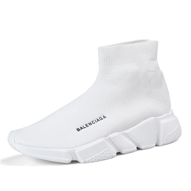 Breathable Mesh Couple Shoes Women and Men - White 927-1 / 45 - Shoes Sneakers