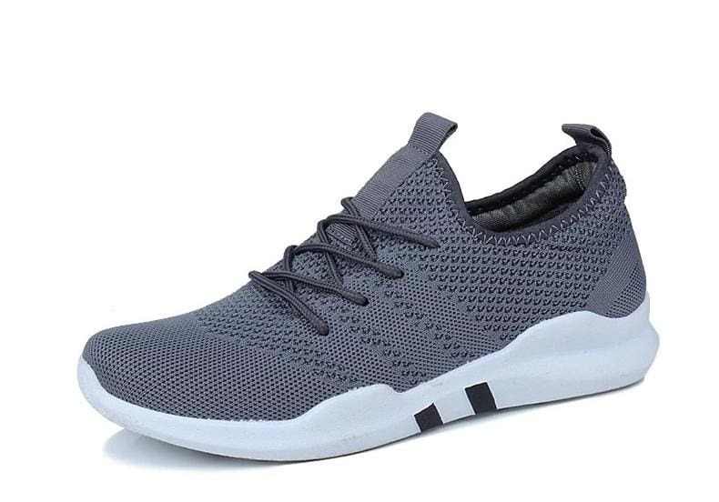 Breathable Shoes Sneakers - Gray / 4.5 - Mens Casual Shoes