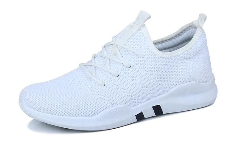 Breathable Shoes Sneakers - White / 10.5 - Mens Casual Shoes
