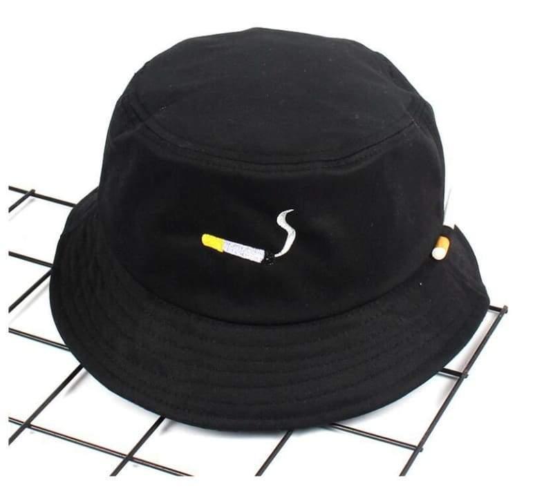 Bucket Cigarette Hat - black - Bucket Hats