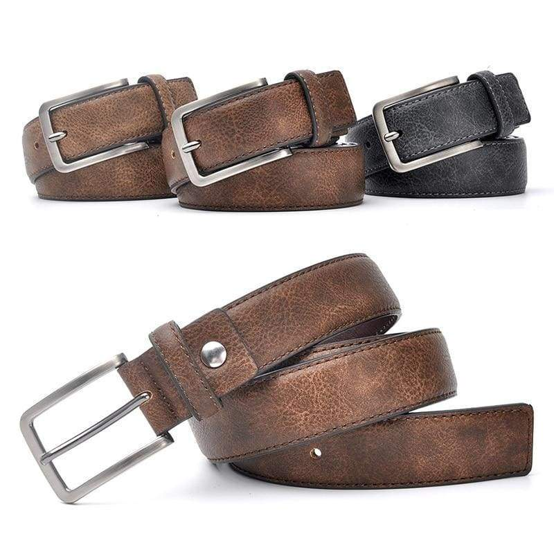 Casual Men Leather Belt - Mens Belts