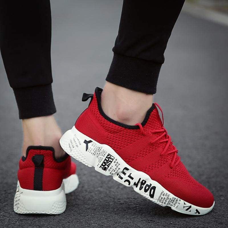 Casual Shoes Breathable Fashion Sneakers - Mens Casual Shoes