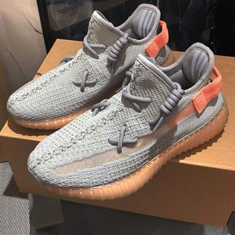 Casual Shoes Breathable Fashion Unisex - Gray Orange / 11 - Casual Shoes