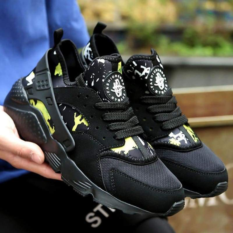 Casual Shoes Breathable For Men and Women - Black Mixed / 4.5 - Shoes Sneakers