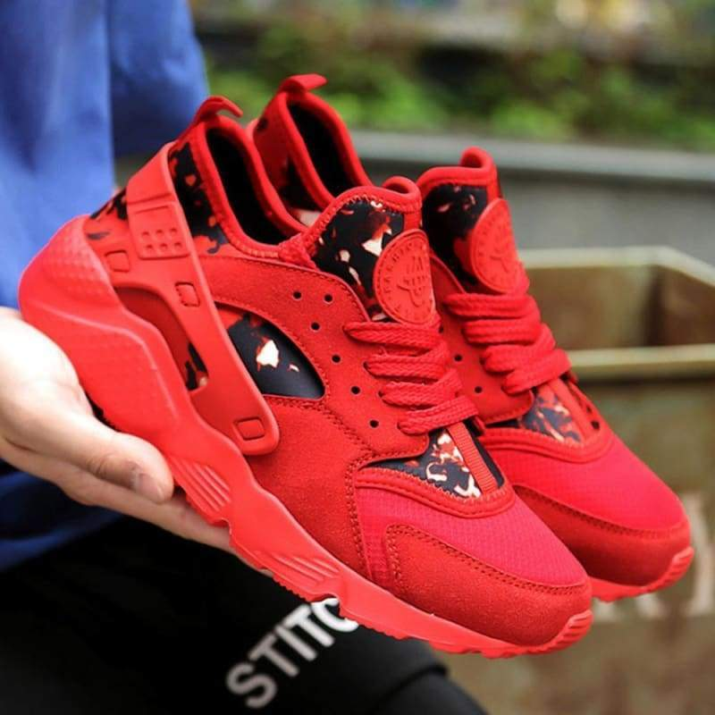 Casual Shoes Breathable For Men and Women - Red Mixed / 4.5 - Shoes Sneakers