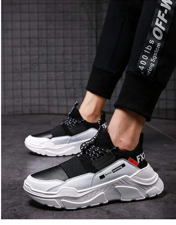 Casual Shoes Mesh Sneakers Breathable Shoes - Mens Casual Shoes
