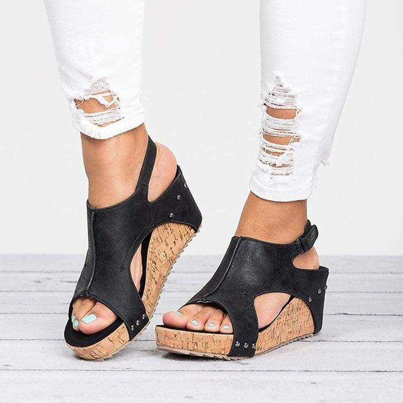 Casual Wedges Shoes Just For You - High Heels