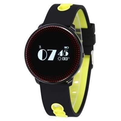 CF007 smart bracelet - Yellow And Black - Smart Wristbands