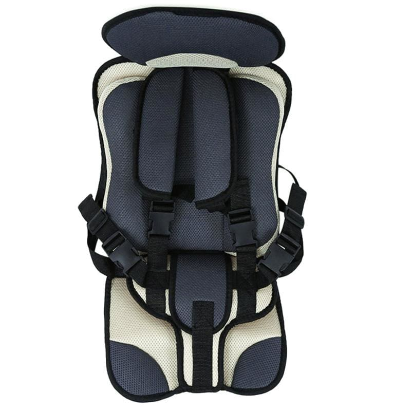Child Secure Seat belt Vest Portable Safety Seat - Black - Child Car Safety Seats
