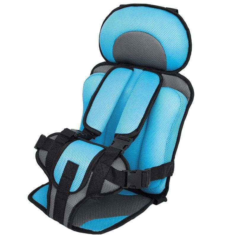 Child Secure Seat belt Vest Portable Safety Seat - Light Blue - Child Car Safety Seats