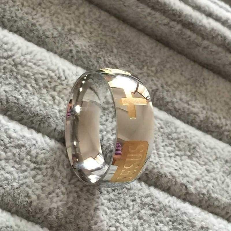 Christian Jesus Ring - Rings