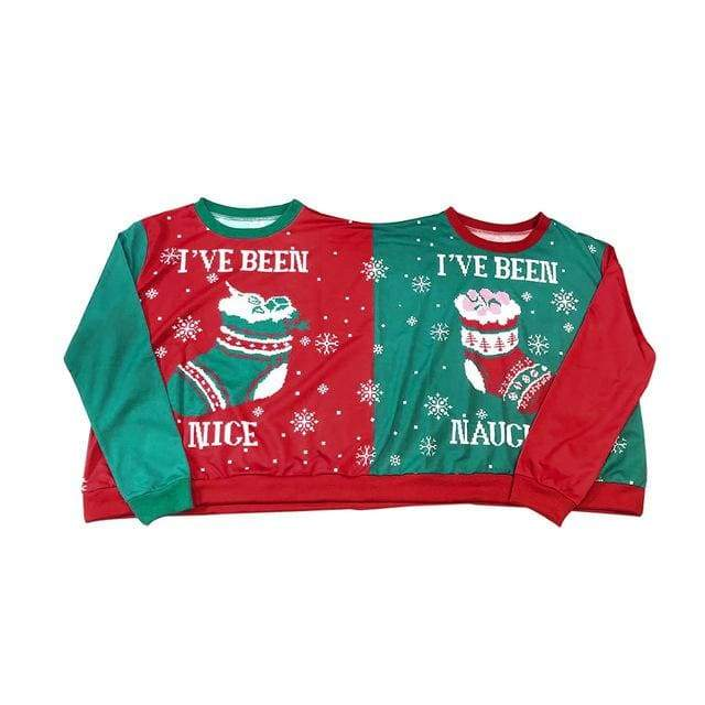 Christmas Couples Sweaters and Pullovers - Multicolor / S - Christmas Dresses