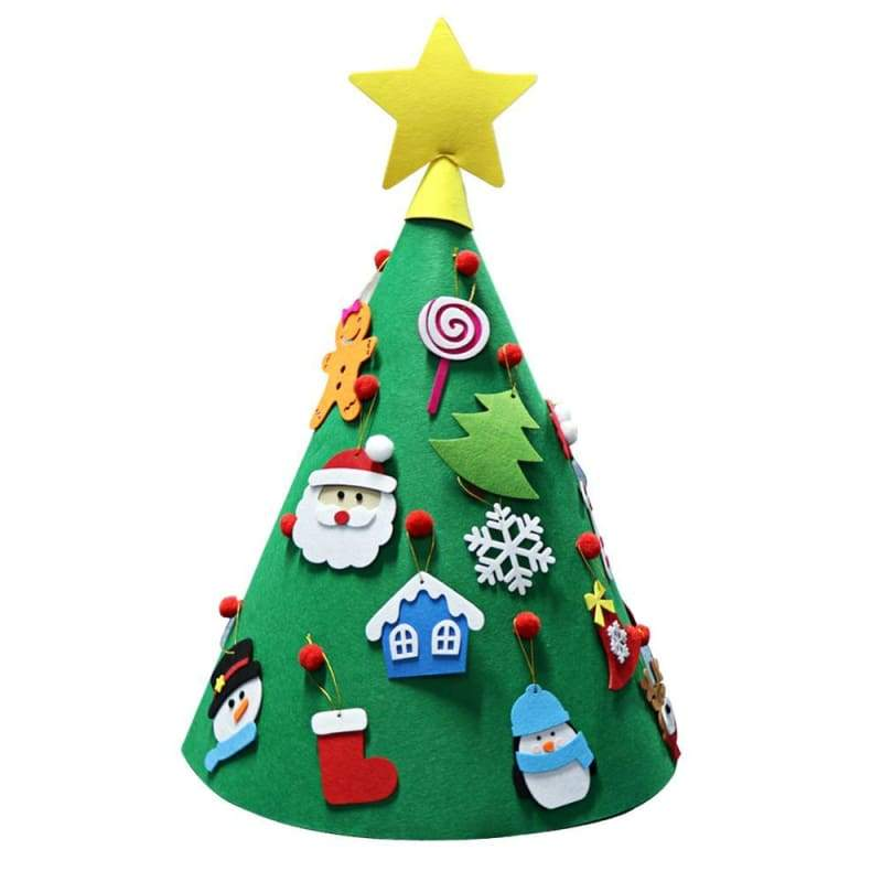 Christmas Tree For Toddlers - Light Green - Trees