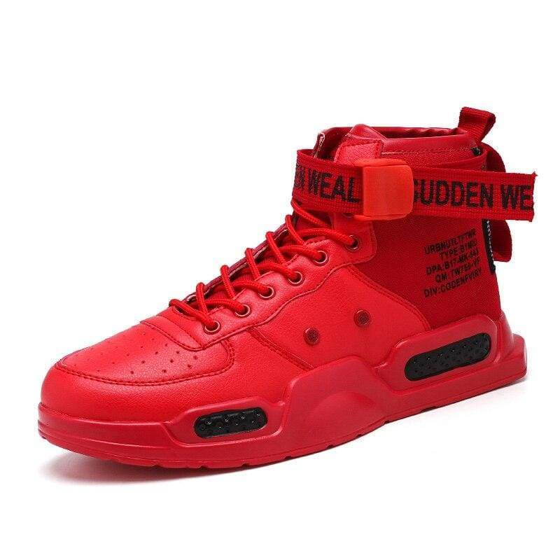 Comfortable Autumn Sneakers Shoes - 0810 Red / 12 - Mens Casual Shoes