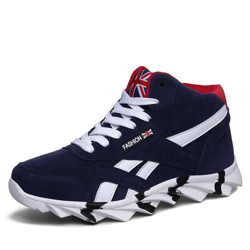 Comfortable Autumn Sneakers Shoes - 8708 Blue / 13 - Mens Casual Shoes