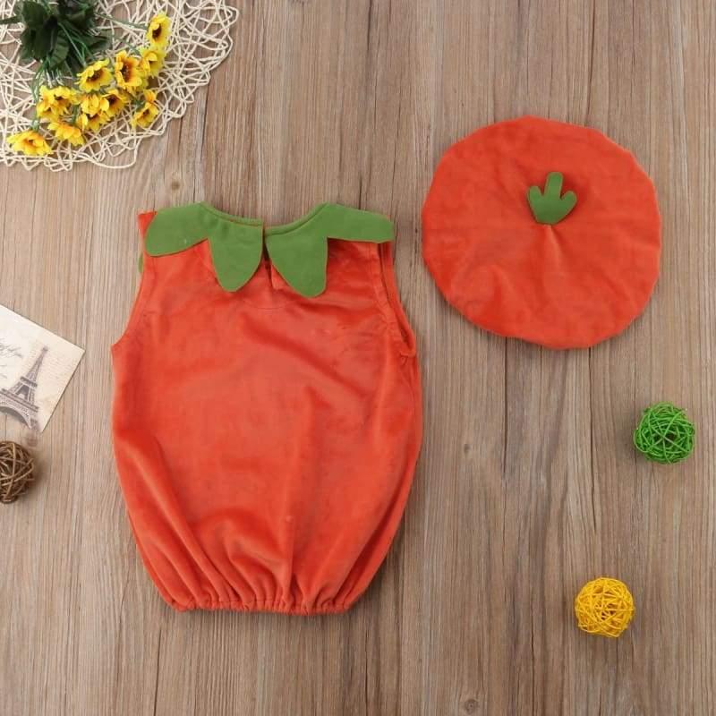 Cosplay Halloween Pumpkin Jumpsuits - Rompers