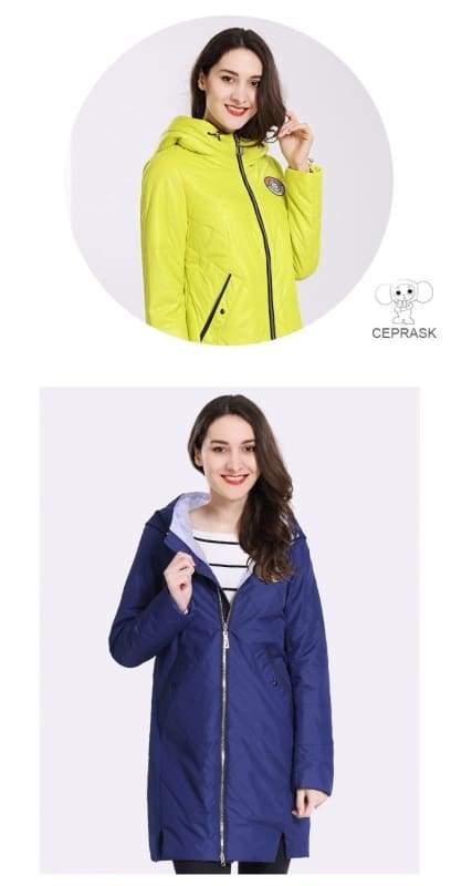 Thin Cotton Parka Women Just For You - Women Coat