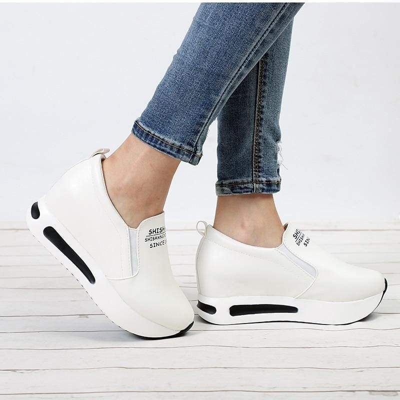 Creepers Spring Increasing Height Shoes - Womens Pumps