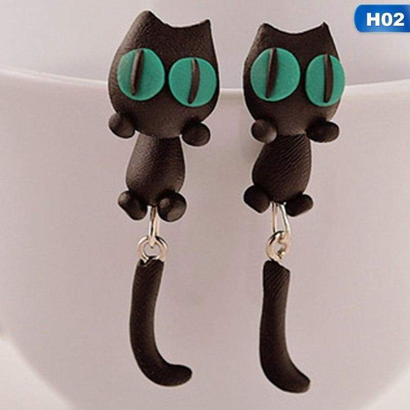 Cute Animal Earrings - H02 - Stud Earrings