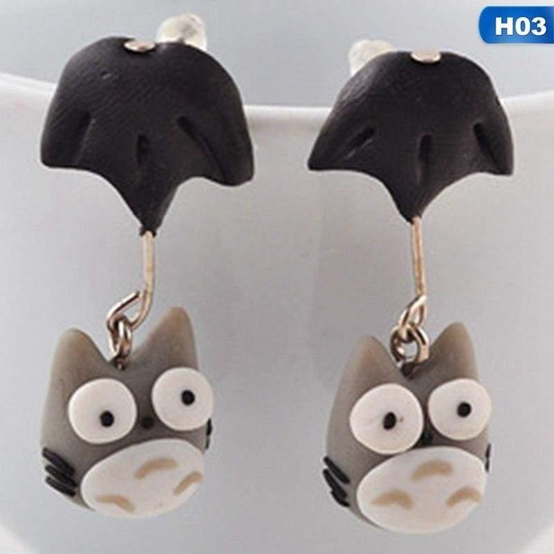 Cute Animal Earrings - H03 - Stud Earrings